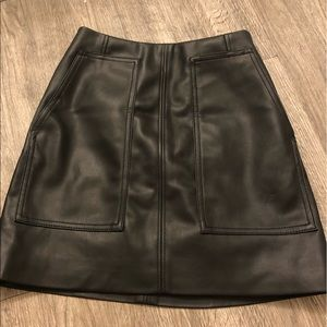 Leather H&M Skirt (Brand New w/out Tags)